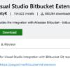 Visual Studio 2017 2019において、bitbucketのリポジトリをクローンする